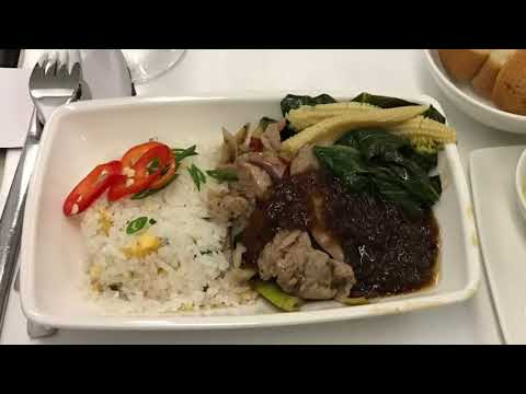 Philippine Airlines A330 Business Class, Sydney to Manila