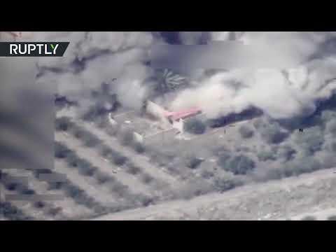 بالفيديو.. لحظة قصف طائرات عراقية لمواقع في سوريا  - نشر قبل 2 ساعة