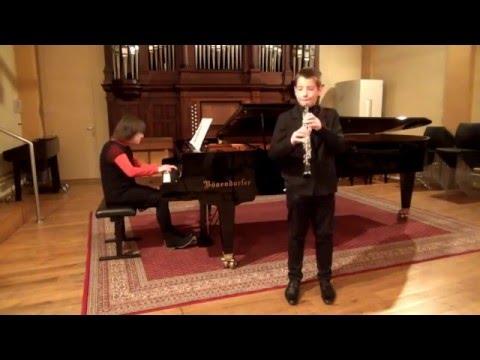 Antonio Vivaldi - Sonata in c minor for oboe and piano (RV 53)