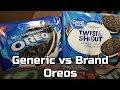 Generic vs Brand Name Battle - Oreos