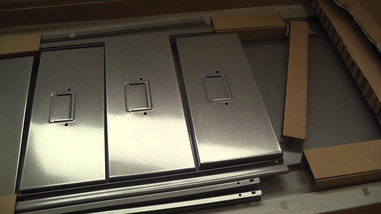ikea helmer drawer unit on casters youtube. Black Bedroom Furniture Sets. Home Design Ideas