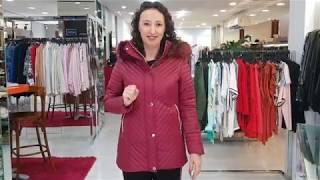 5b056f11a Jaqueta Estofada Alongada com Capuz Removível Safira Fashion