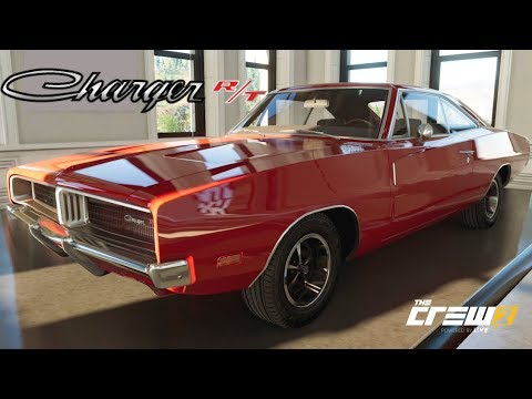The Crew 2 - 69' Dodge Charger R/T - Customization, Top Speed, Review