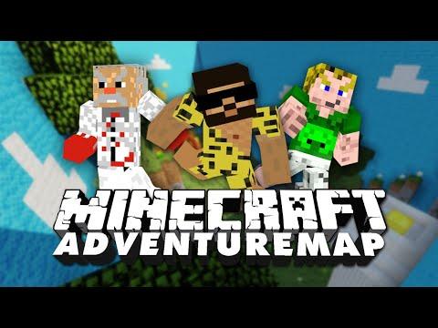 Minecraft Adventure Map Special!