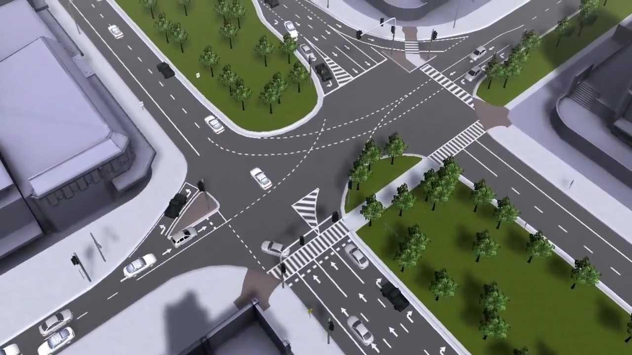 mycosm traffic flow simulation demo