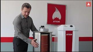 Атем ДТК. Турбо котел-бойлер! До 32 литров горячей воды в минуту! Обзор котла.