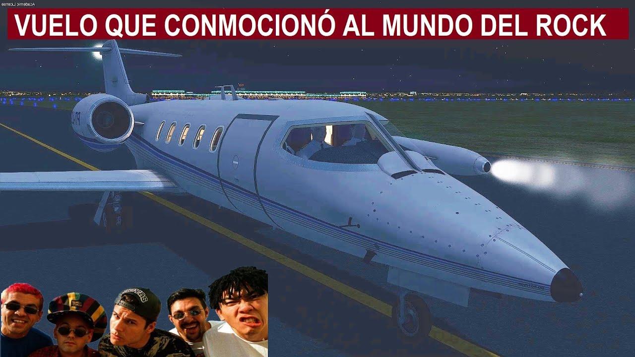 El accidente que conmocionó al mundo de la música - Vuelo del Learjet 25D en Brazil
