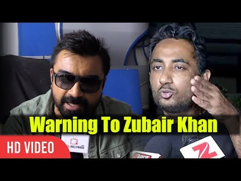 Ajaz Khan Warning To Zubair Khan | Yeh Sab Mat Kar | Zubair Khan Bigg Boss 11 Fight