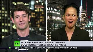 Jackson fans vent anger over new documentary alleging child abuse