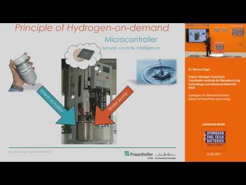 Hydrogen-on-demand solutions based on PowerPaste technology