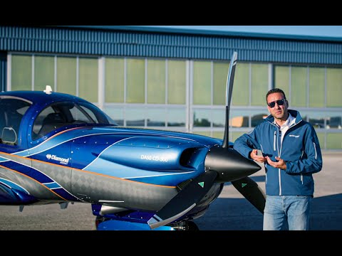 Diamond Aircraft DA50 RG Walkaround  Exterior and Interior