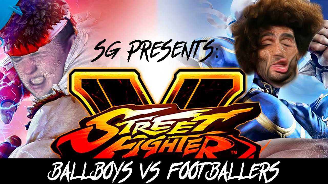 Ball Boys/Fans VS Footballers
