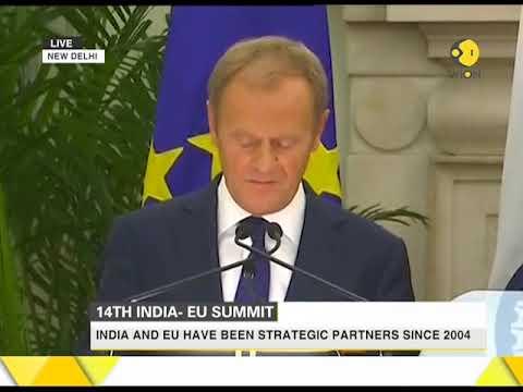 Watch: Indian PM Narendra Modi speaks at 14th India-EU Summit