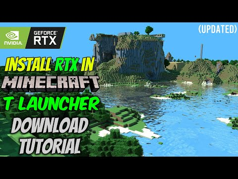 Install Minecraft RTX Shaders in TLauncher   Download Tutorial   Works With All Versions (Updated)