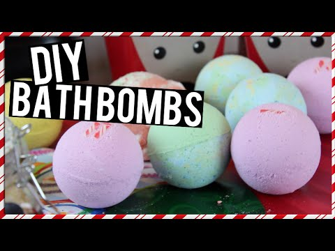 DIY: Bath Bombs ~ Easy & Quick!