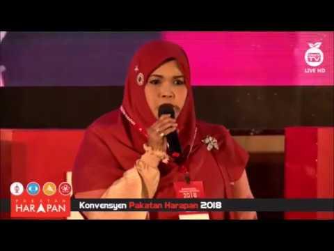 TERKINI - AISHAH Nyanyi Bahtera Merdeka - Wakil Artis Konvensyen PH 2018 1
