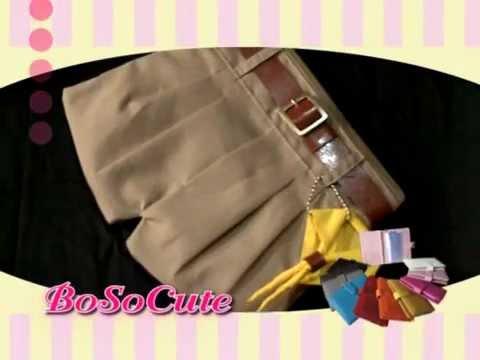 ธุรกิจติดดาว - BoSoCute กระเป๋าแฟชั่น