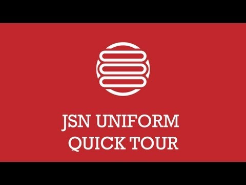 JSN UniForm Quick tour | Joomla Extension Video