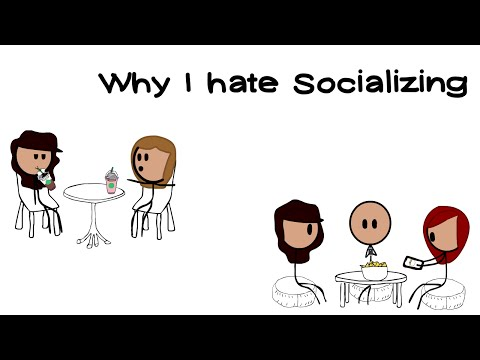 WHY I HATE SOCIALIZING || Chilly Relatables