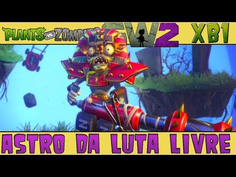 Plants vs. Zombies Garden Warfare 2 - Astro da Luta Livre