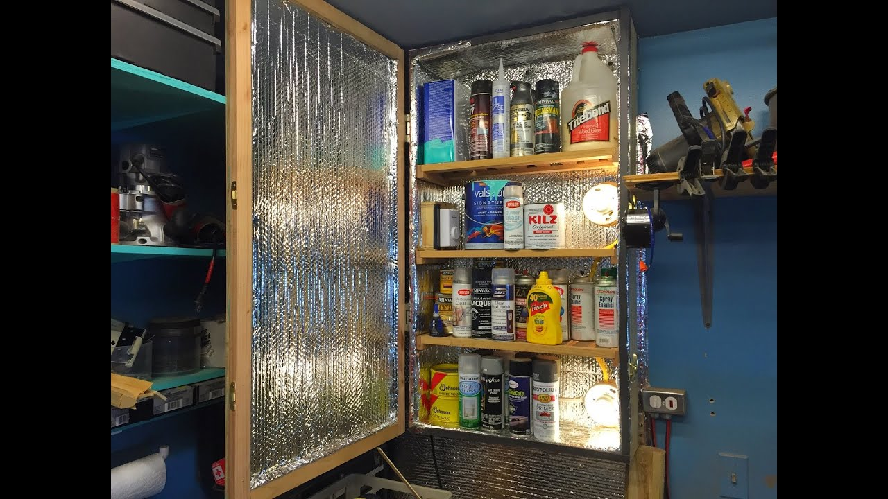 Captivating Heated Shop Cabinet