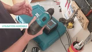 Perceuse visseuse 18V de MAKITA - Présentation client du produit
