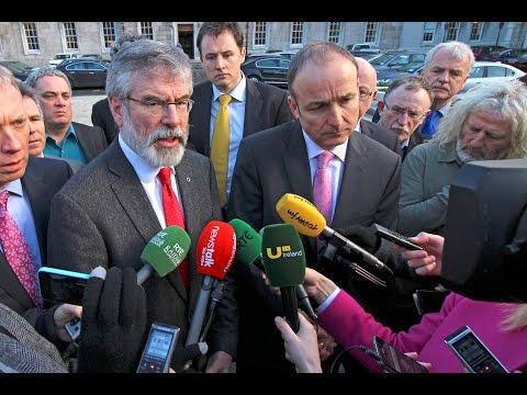 Opposition walkout of Dáil as garda malpractice debate cancelled