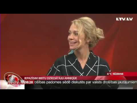Annique | Safe as Stone | Live on TV in Latvia