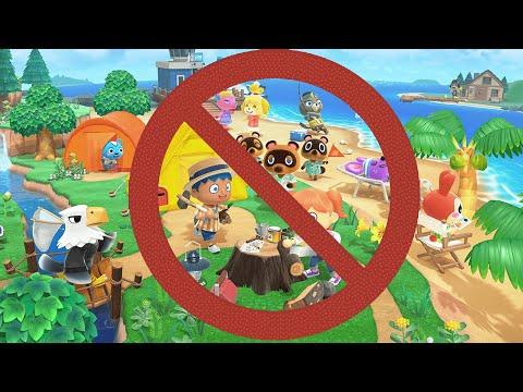 Не играйте в Animal Crossing!