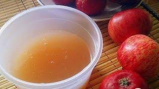 Пектин из яблок.  Пошаговый рецепт с фото