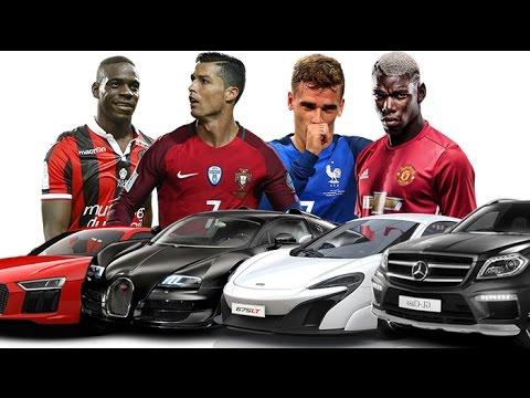 Les plus belles voitures des stars en 2016 | feat. Ronaldo, Griezmann, Pogba, Balotelli...