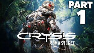 CRYSIS REMASTERED Gameplay Walkthrough Part 1 (PC 4K High Settings)