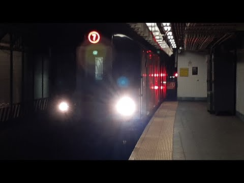 R188 (7) Train Action At Times Square 42nd Street And 34th Street Hudson Yards (Ft Awkwafina)