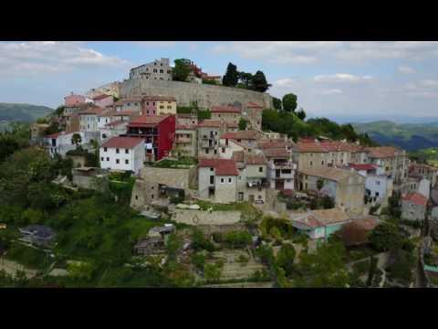 [4K] Croatia Motovun Drone View (DJI MAVIC PRO)
