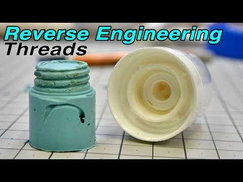 How To Reverse Engineer Bottle Threads