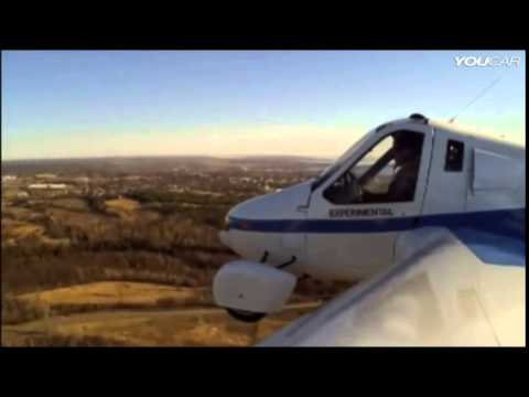 ► Flying Car   Terrafugia Transition street legal aircraft