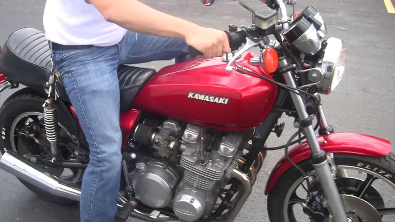 1978 KAWASAKI KZ 650 - YouTube