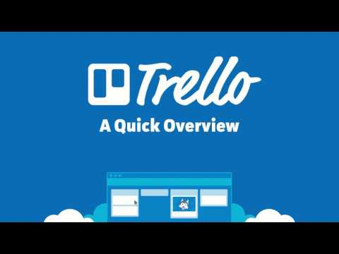 Trello - A Quick Overview