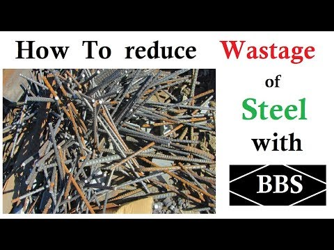 How To Reduce Wastage Of Steel With BBS? | Method, Solution In Urdu /Hindi