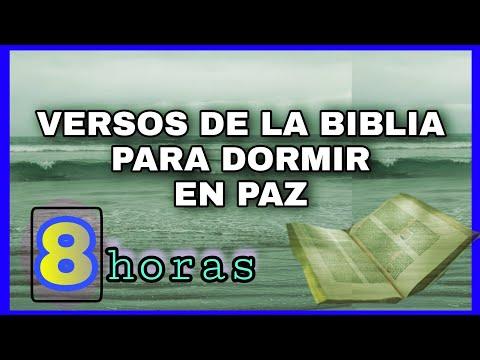 🟢 VERSOS BÍBLICOS para DORMIR Tranquilo en Paz 🛌🏻 Palabra de Dios - Escuchar Versículos de la Biblia