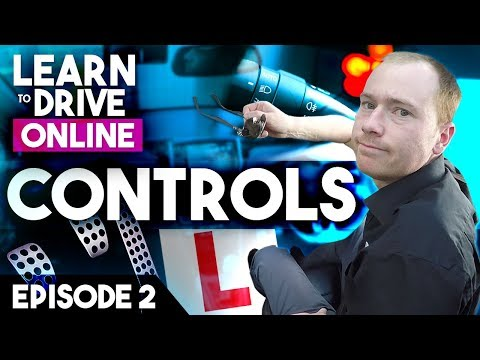Online Driving Lesson for Beginners - Controls, Pedals & Zon