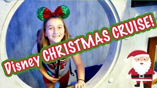 DISNEY CRUISE ON THE DISNEY MAGIC FOR A 🎄 CHRISTMAS CRUISE!