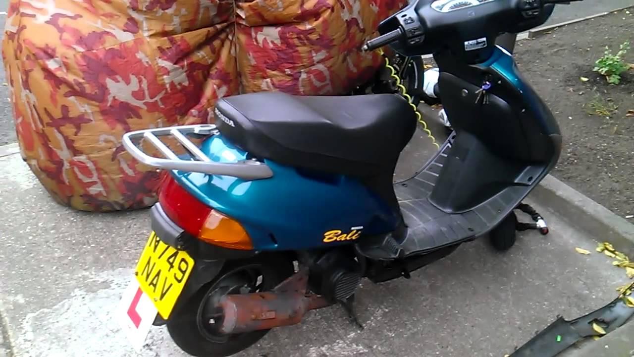 HELP Honda bali 50cc moped starting problem  no power cuts out
