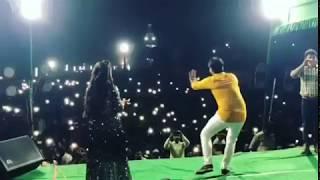 Akshara Singh & Arvind Akela ( Kallu ) Stage Show