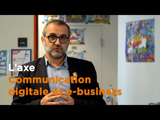#IIM : l'axe Communication Digitale et e-business • Christophe Dané