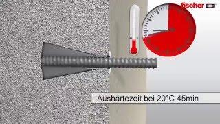 Fischer химический анкер FIS V Установка в бетон(, 2016-05-16T17:43:41.000Z)