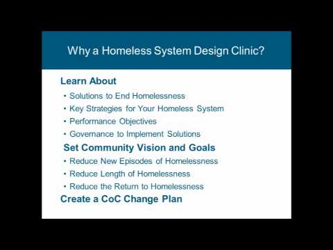 Virginia System Design Clinics and CoC Funding Preparation