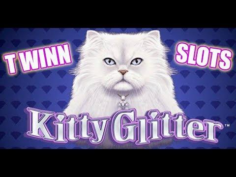 Kitty Glitter BIG WIN! Slot Machine BONUS Fun!!