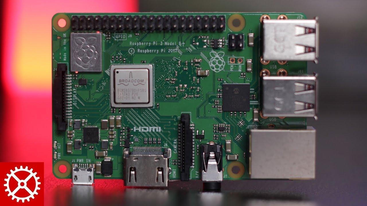 Raspberry Pi 3 - Model B+ - 1 4GHz Cortex-A53 with 1GB RAM
