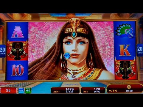 Radiant Queen Slot $6 Bet LINE HIT and ☆NEW KONAMI☆ First Attempt 5 Elemental Legends Slot Machine